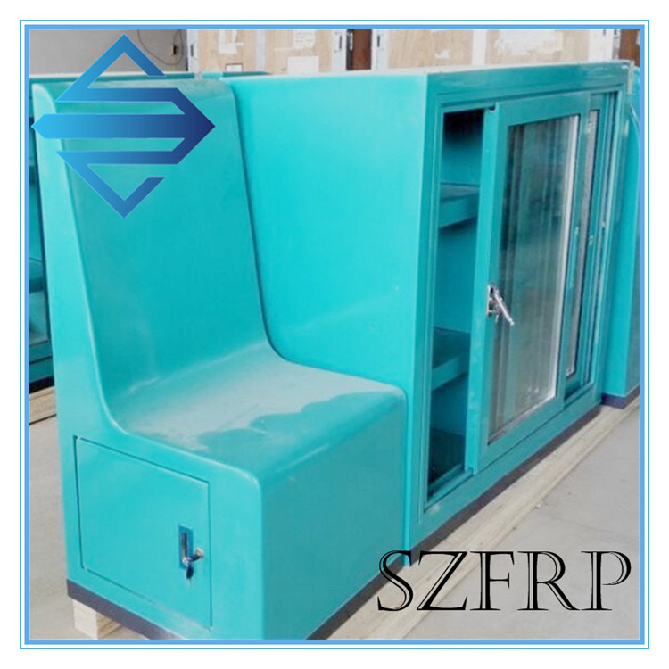 Hand Layup Custom Fiberglass Cover for Machine