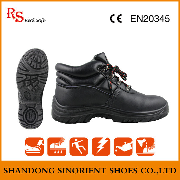 South American Safety Shoes, Security Guard Safety Shoes Manager Snf506