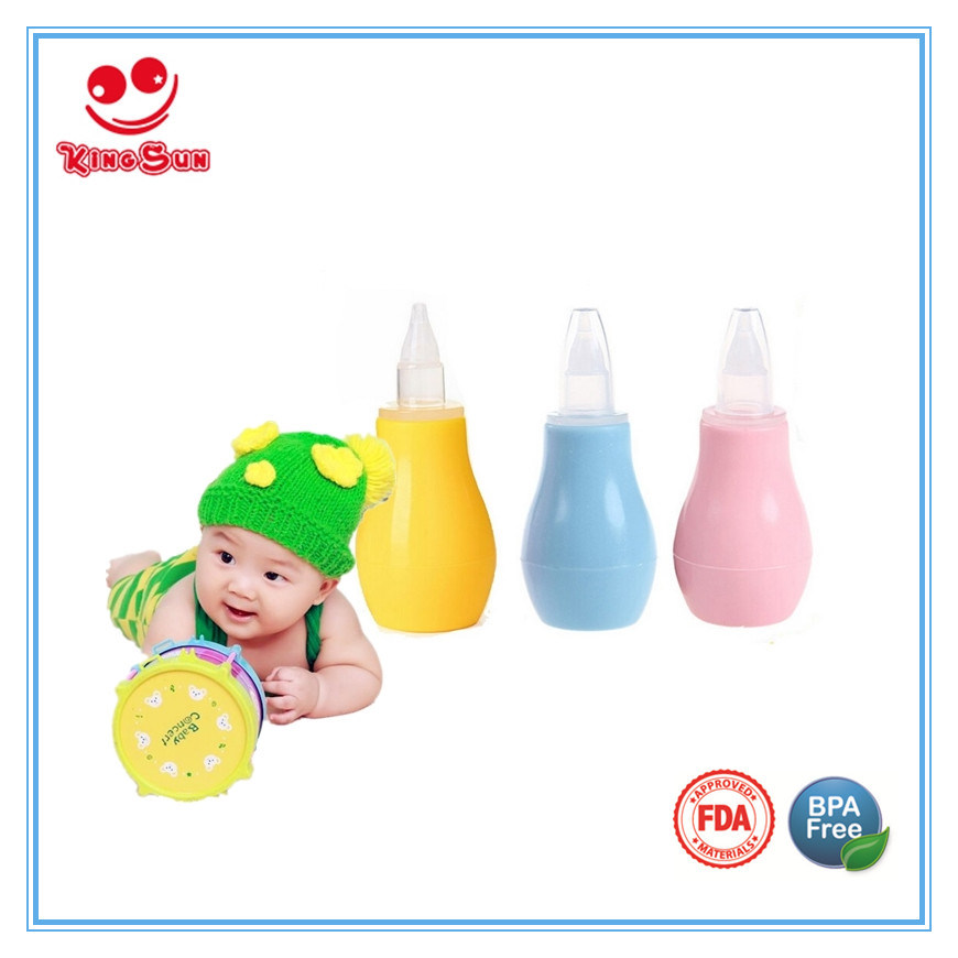 Infant Nose Cleaner Safety Silicone Nasal Aspirator for Babies