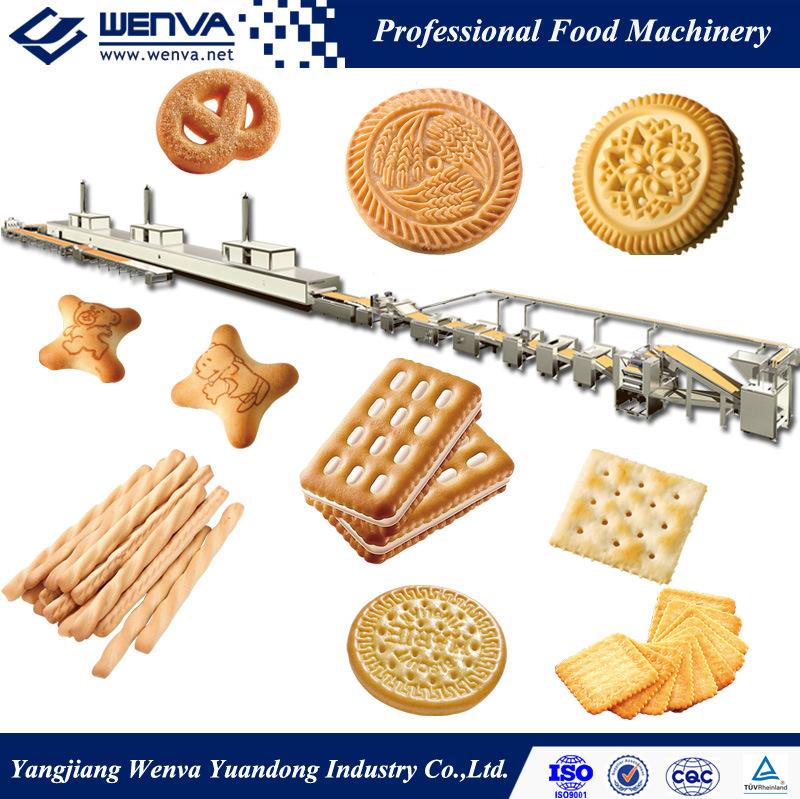 Multi-Purpose Full Automatic Biscuit Machine