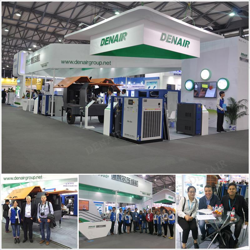 Mining Cummins Diesel Engine Portable Rotary Screw Air Compressor (China Manufacturer)