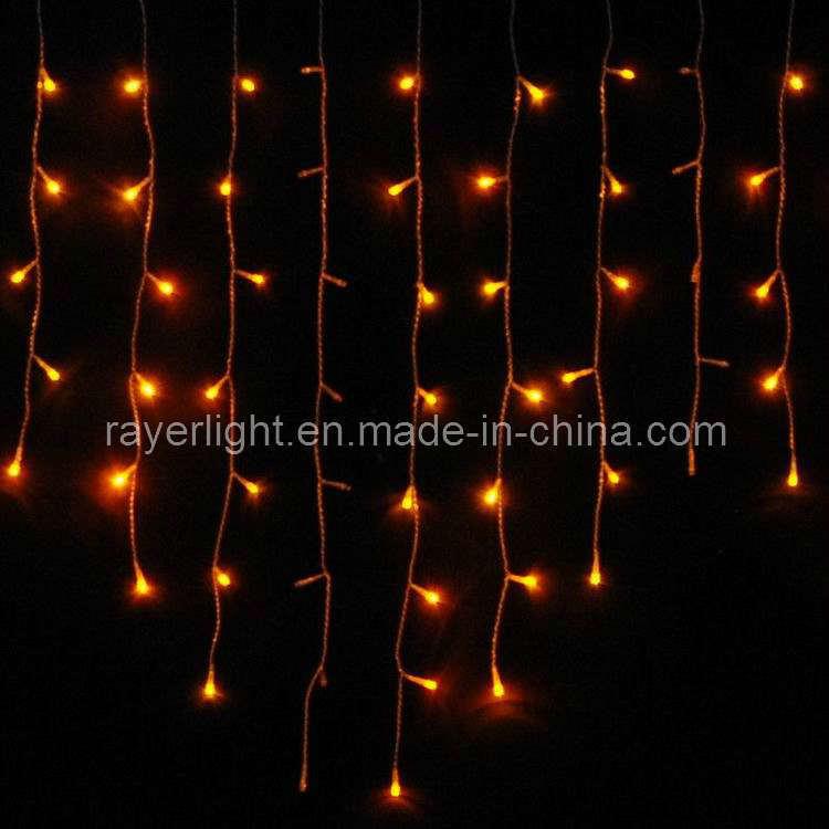 LED Icicle Holiday Light (144 LEDs) LED Fairy Light for Christmas Decoration