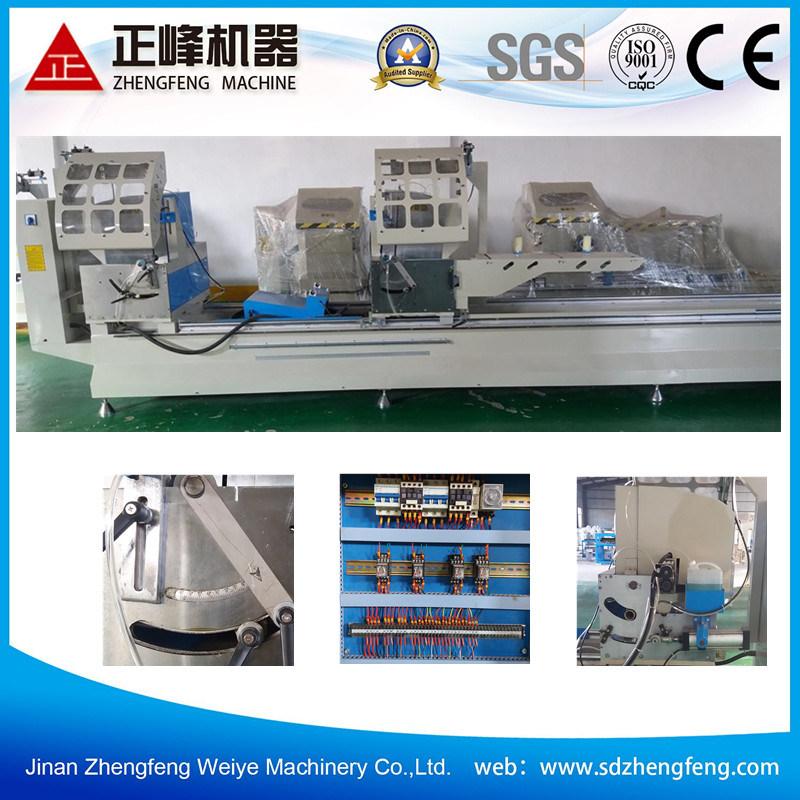 90 Degrees and 45 Degrees Angle Window Profile Aluminum Cutting Machine