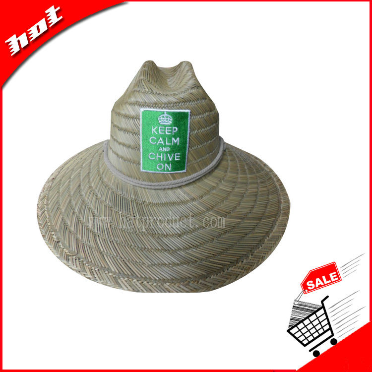 Rush Straw Hat Hollow Straw Hat Handmade Straw Hat