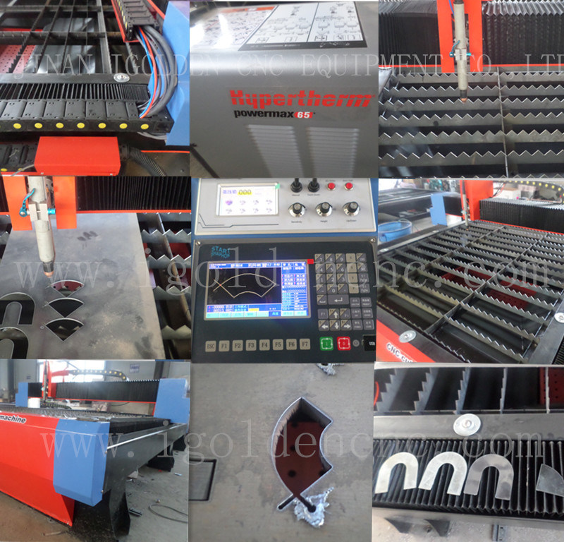 Heavy Duty Lgk 100A Plasma Cutting Machine for Curbon Steel Metal Cutting