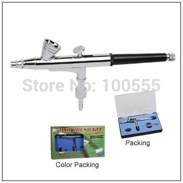 0.2mm or 0.3mm 2cc Dual-Action Airbrush for Artwork, Design Painting