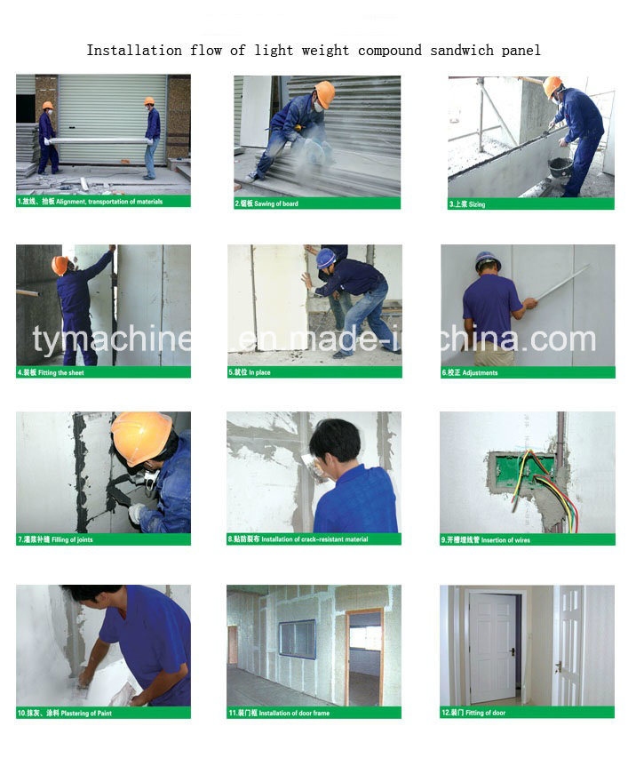 EPS Wall Panel Molding Machine/Sandwich Wall Panel Machine