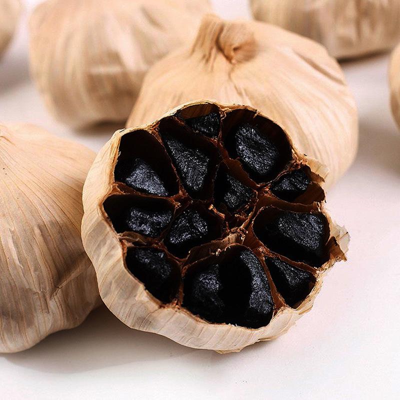 Good Taste Fermented Black Garlic 6 Cm Bulbs (500g/can)