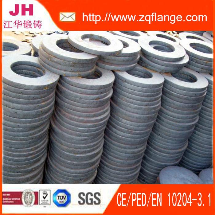 Carbon Steel of Electroplating Zinc Socket Welding Flange