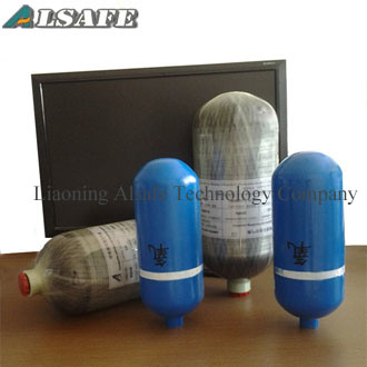 Aluminum Alloy Small Compressed Air Bottle