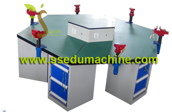 Vice Workbench Mechnical Workbench Teaching Equipment School Furniture