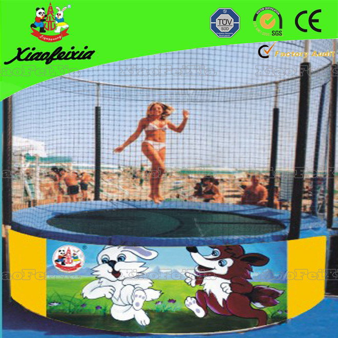 10ft Carton Kids Trampoline for Sale (LG048)