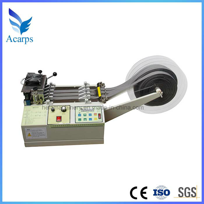 Polyester Nylon Ribbon Webbing Hot Cutting Machine