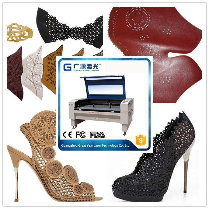 Leather Man Ladies Shoes Laser Cutter 80W 100W