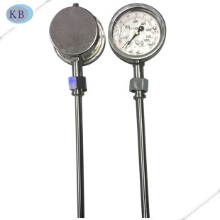 Exhaust Gas Thermometer Silicone Oil Filled 50+650c