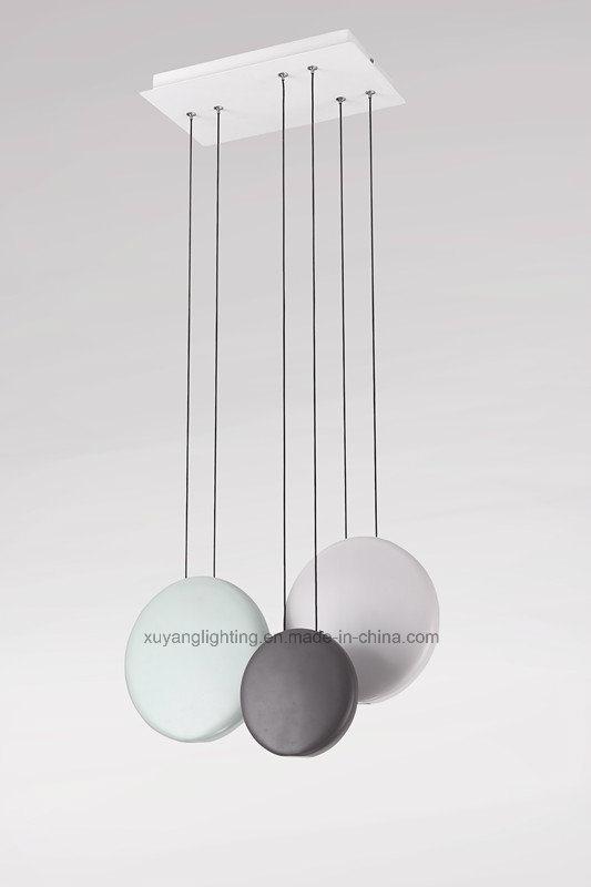 Decorative Pendant Light, LED Resin Pendant Lamp