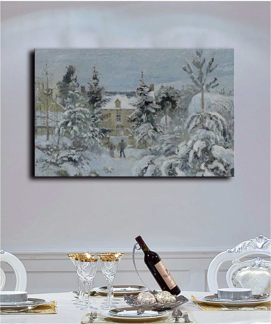 Wholesale High Quality Decoration Oil Painting, Home Decoration Painting, Art Painting (Chinese winter nature landscape)