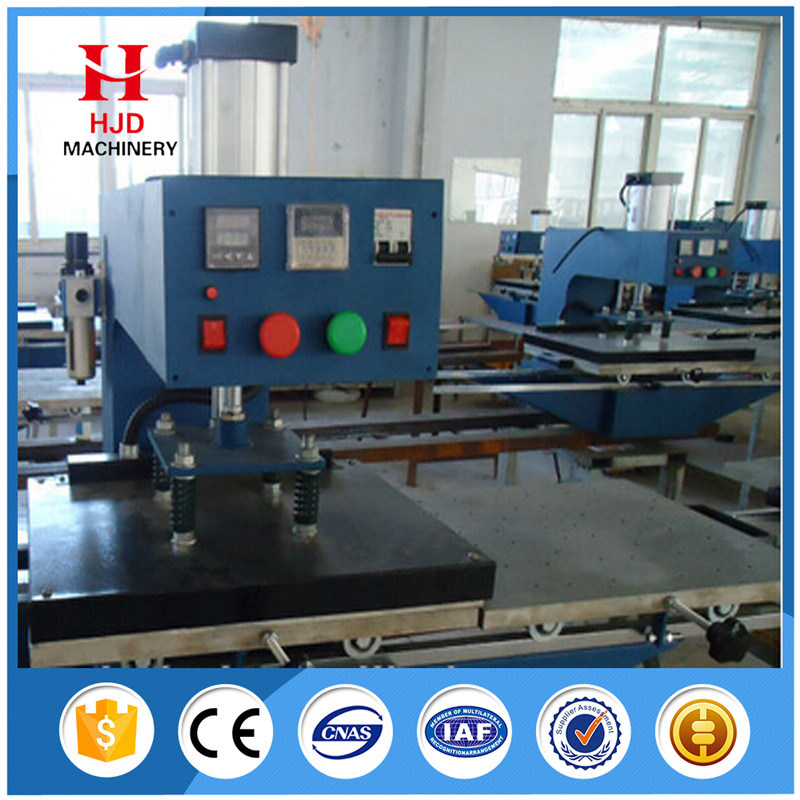 Double Position Semi Automatic Heat Transfer Machine
