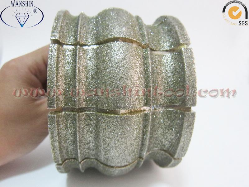 China Electroplated Profiling Wheel Premium Quality