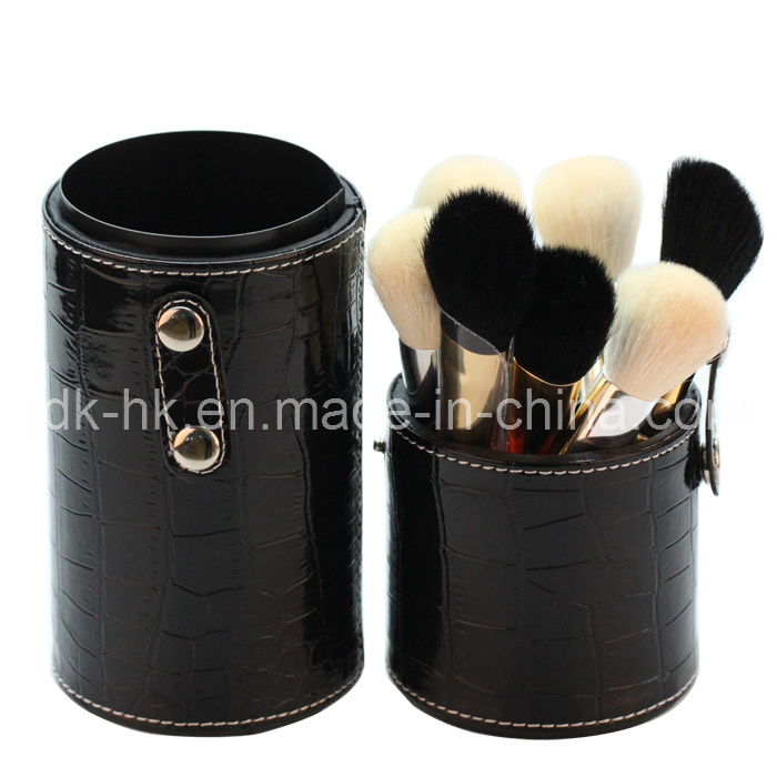 Deluxe Makeup Brush with Cosmetic Cup Holder (JDK-MS005)