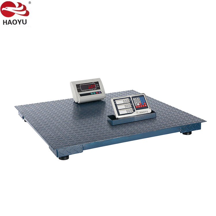 1.0m*1.0m Pan Size 1t Digital Floor Scale for Weighing