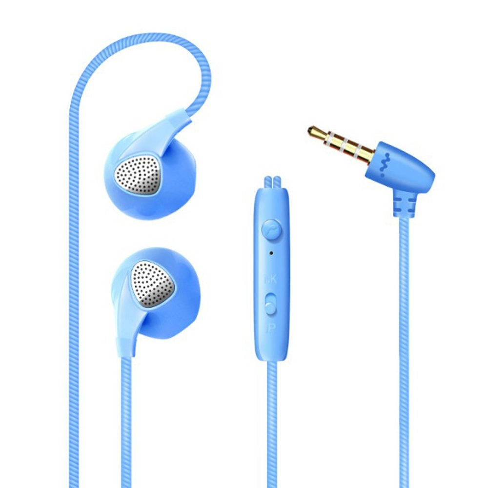 Universal 3.5mm Stereo Earphones Headphones with Mic & Remote Control for All Phones