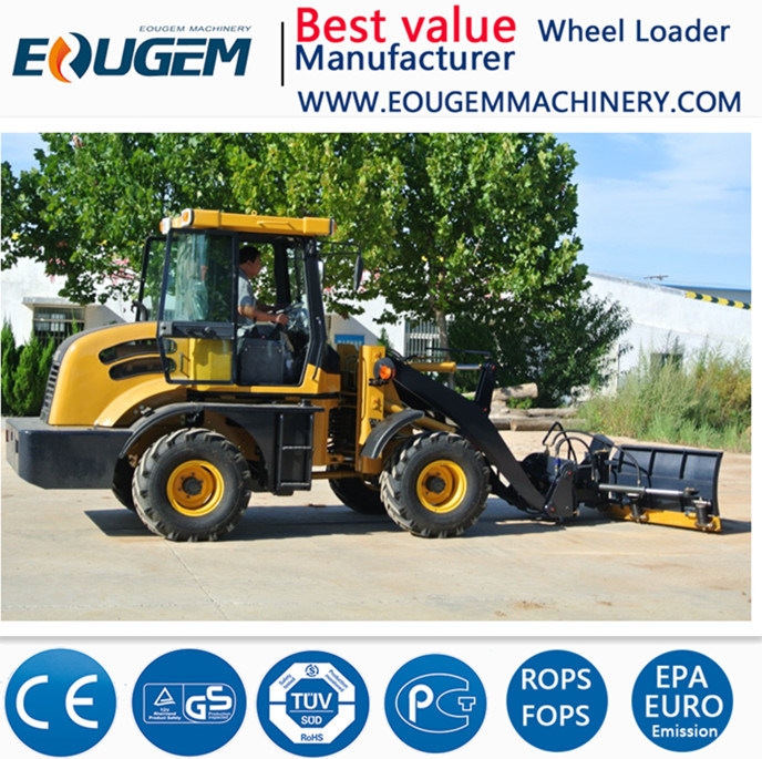 Eoguem Zl12 1.2ton Mini /Small Wheel Loader Farm Loader in China