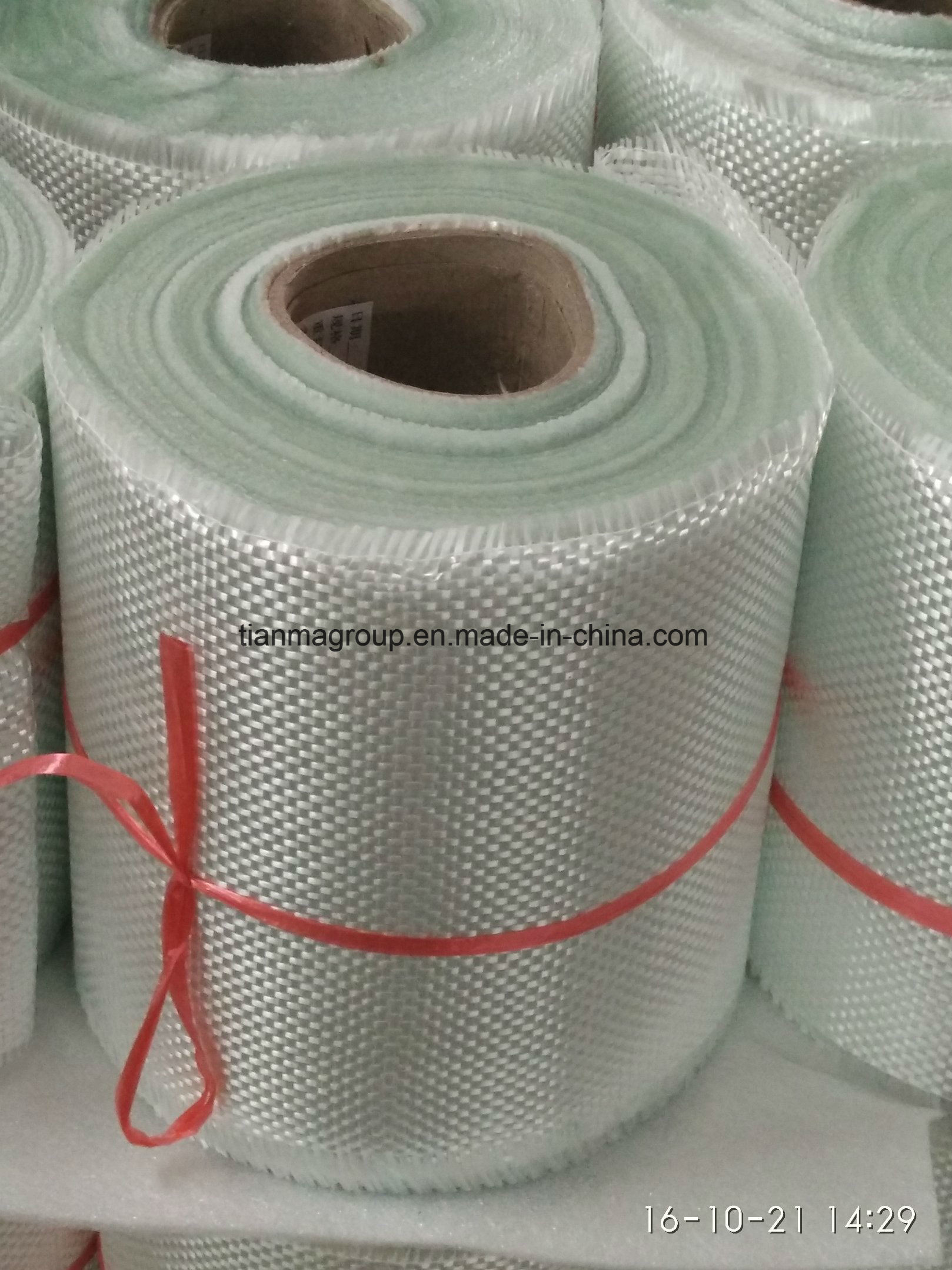 Glassfiber Woven Roving Fiber Glass Cloth or Tape 600g