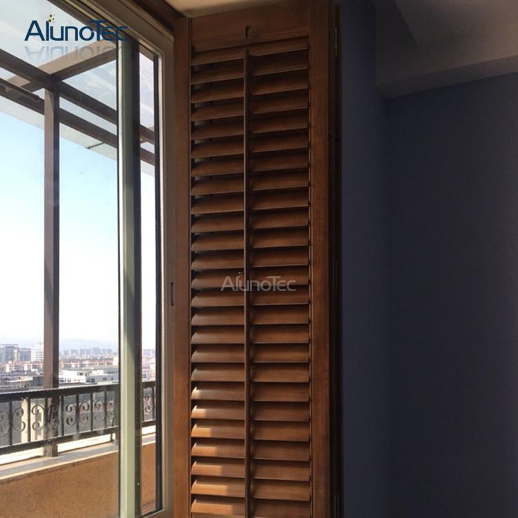 Wood Adjustable External Wooden Louvres