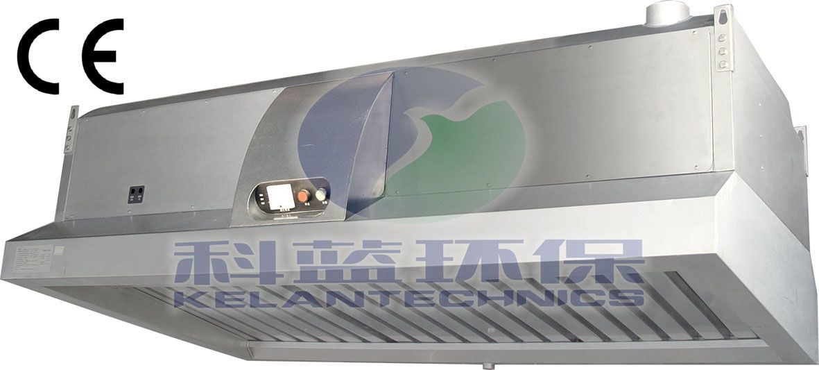 China Commercial Kitchen Range Hood With Air Cleaner Bs 266 China Kitchen Equipment