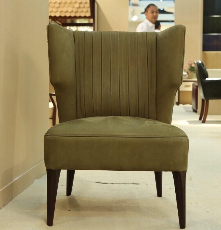 New Italian Design Nubuck Living Hotel Room Furniture