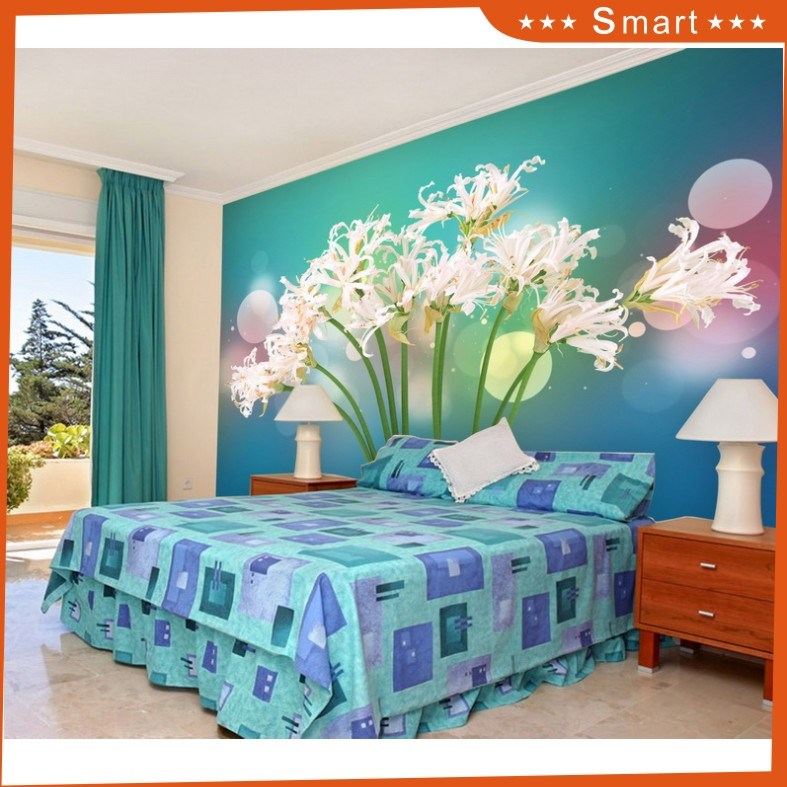 Bright Sky with The Flower Wallpaper for Home Decoration Oil Painting (Model No.: Hx-5-034)