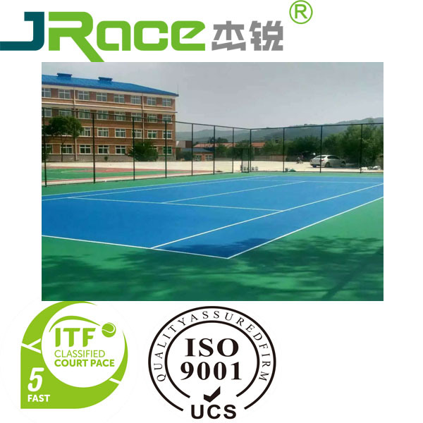 One-Component PU for Outdoor Basketball Courts Sports Flooring Surface