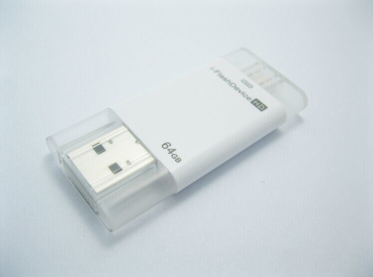 Universal I-Flashdrive HD OTG USB for iPhone 6 Plus 5 5s iPad Air Table (OM-P810)