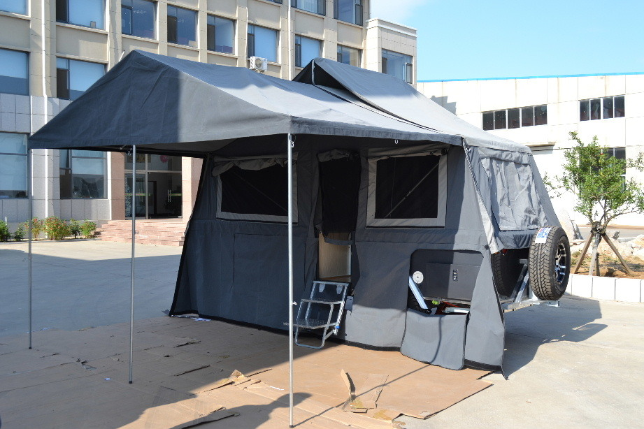 2015 Popular Hard Floor Forward Folding Camper Trailer