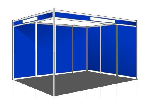 Exhibition Stand Hire Newcastle : Shell scheme booth