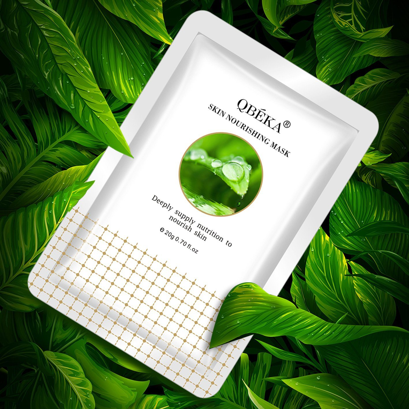 OEM Skin Nourishing Mask Gold Collagen Face Mask Face Whitening Mask