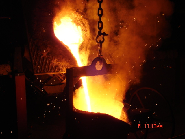 Cast In Steel : China cast steel casting