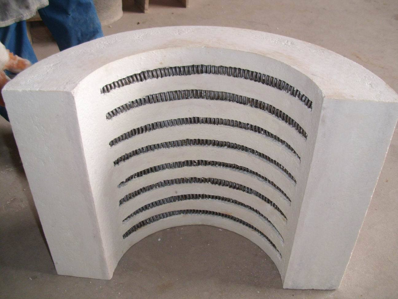 Electric Heater with Ceramic Fiber