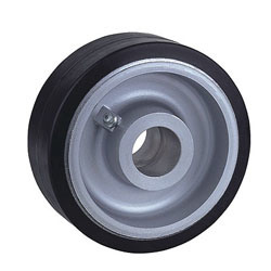 Rubber Wheels with Aluminum Centre
