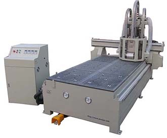 CNC Router With 4 Spindles for Wood Door Making (RJ-1325)