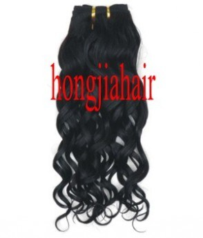 Body wave indian remy hair weft fl084