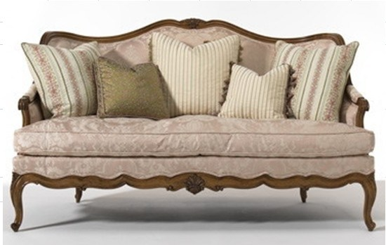 China Wooden Classic Sofa Dy 10 China Fabric Sofa
