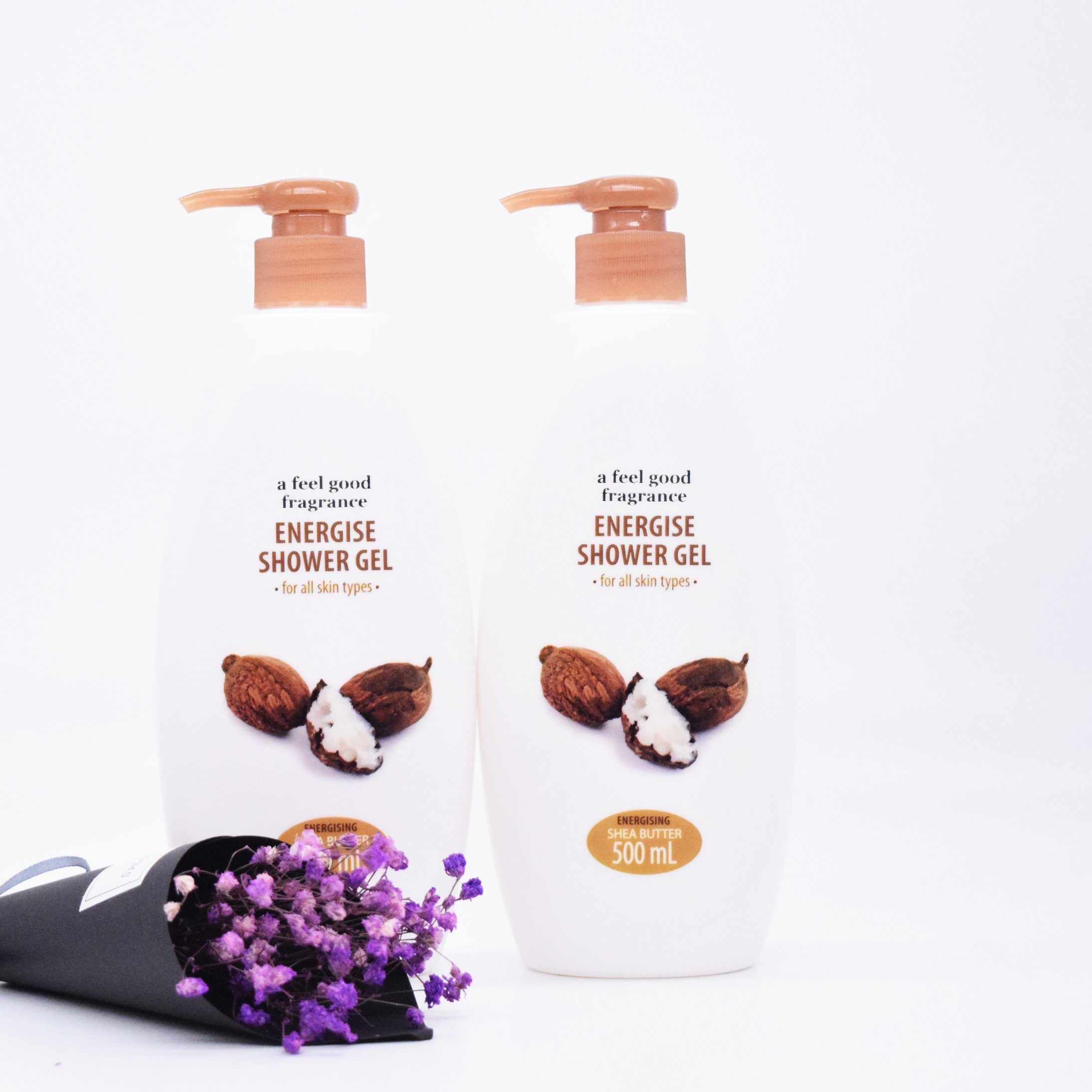 Three Kinds of Shower Gel Nourishing Body Wash Moisturizing Skin
