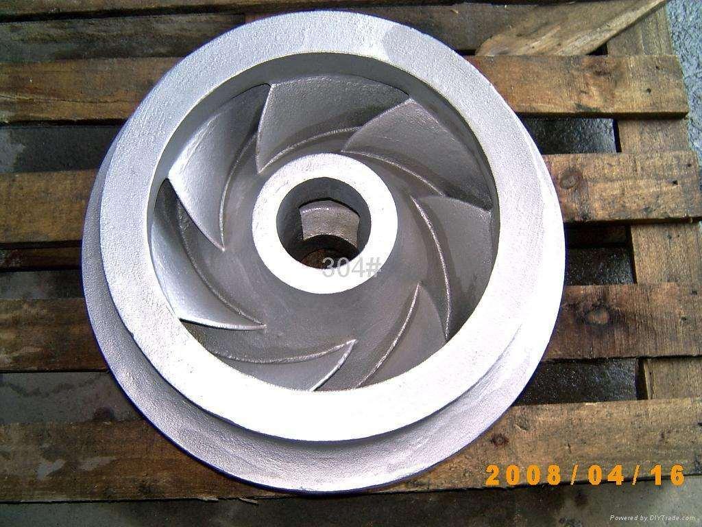 Custom Pressure Steel Metallurgical Casting Pump Casting Impeller
