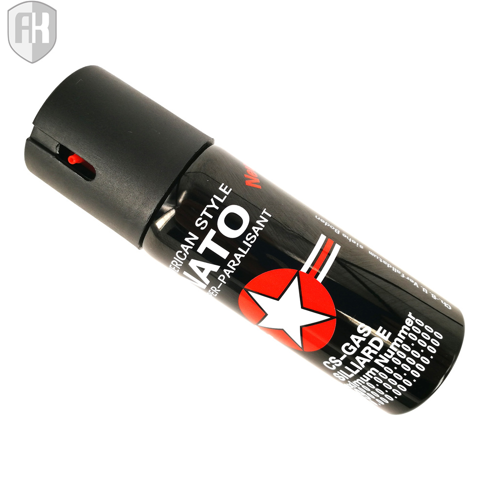 Colorful New Style 60ml Self-Defense Pepper Spray Nato