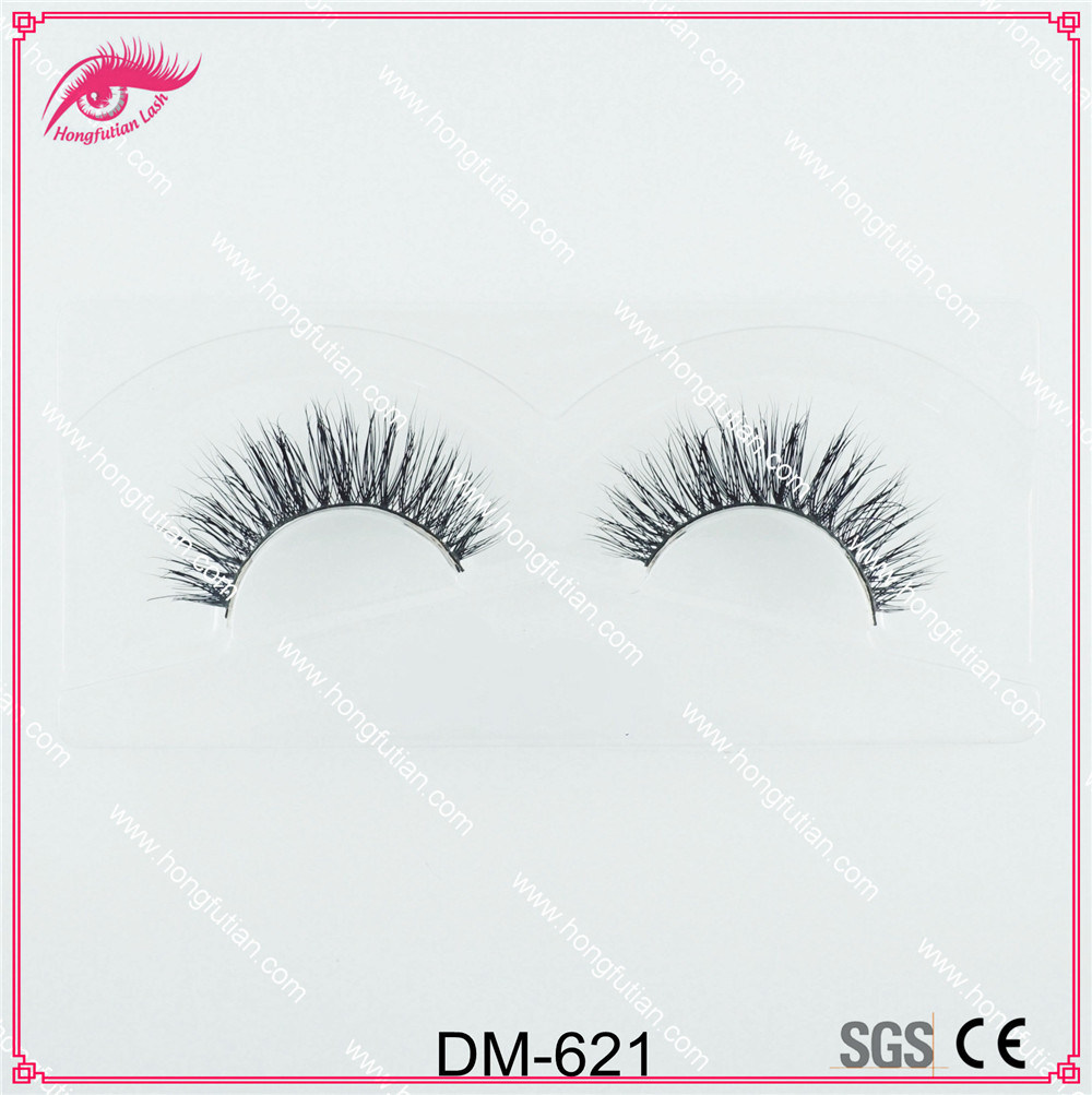 Top Quality Natural False Eyelash Private Label 3D Eyelashes Mink