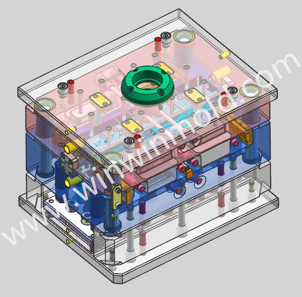 Professional Plastic Injection Mold Design Preliminary 2D Ga Full 3D Data Mold Manufacturer