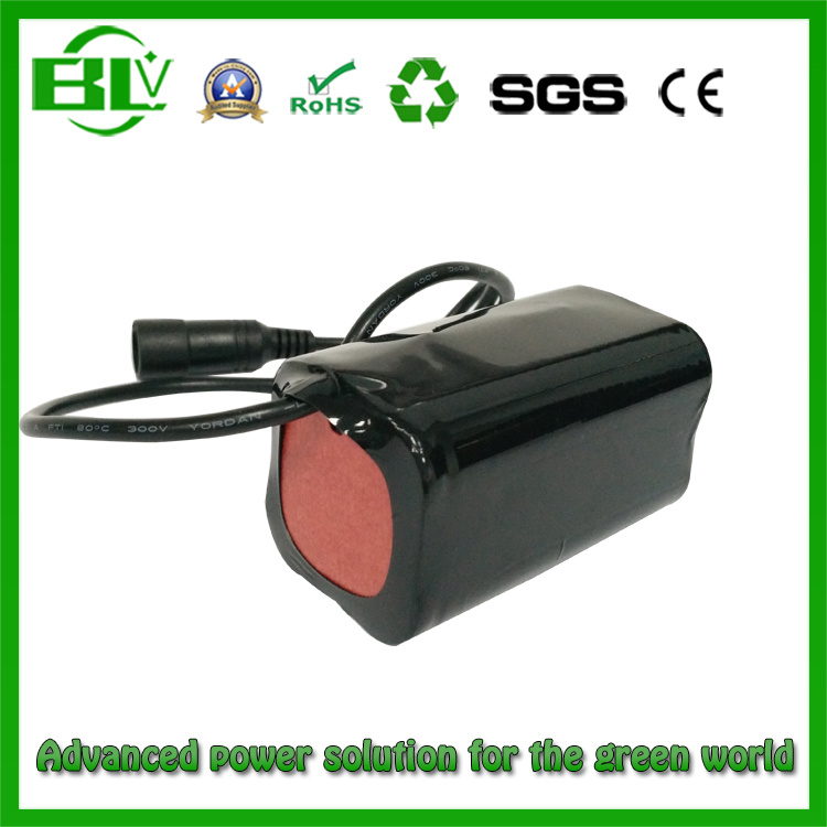Fishing Lamp Power Supply of 7.4V4400mAh 18650 Lithium Battery