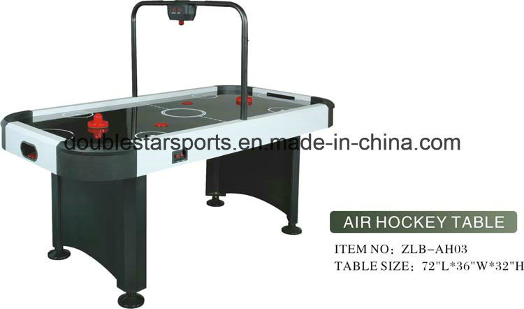 Classic Style 6FT Electronic Indoor Air Hockey Game Table